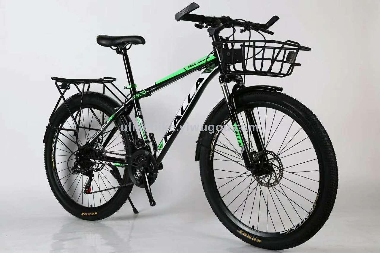 Supply Bike 26 21 Speed Mountain Bike Transmission High Carbon Steel Frame Factory Direct Sales