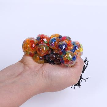 发泄葡萄球手捏葡萄球整人整蛊减压玩具搞怪创意玩具水球