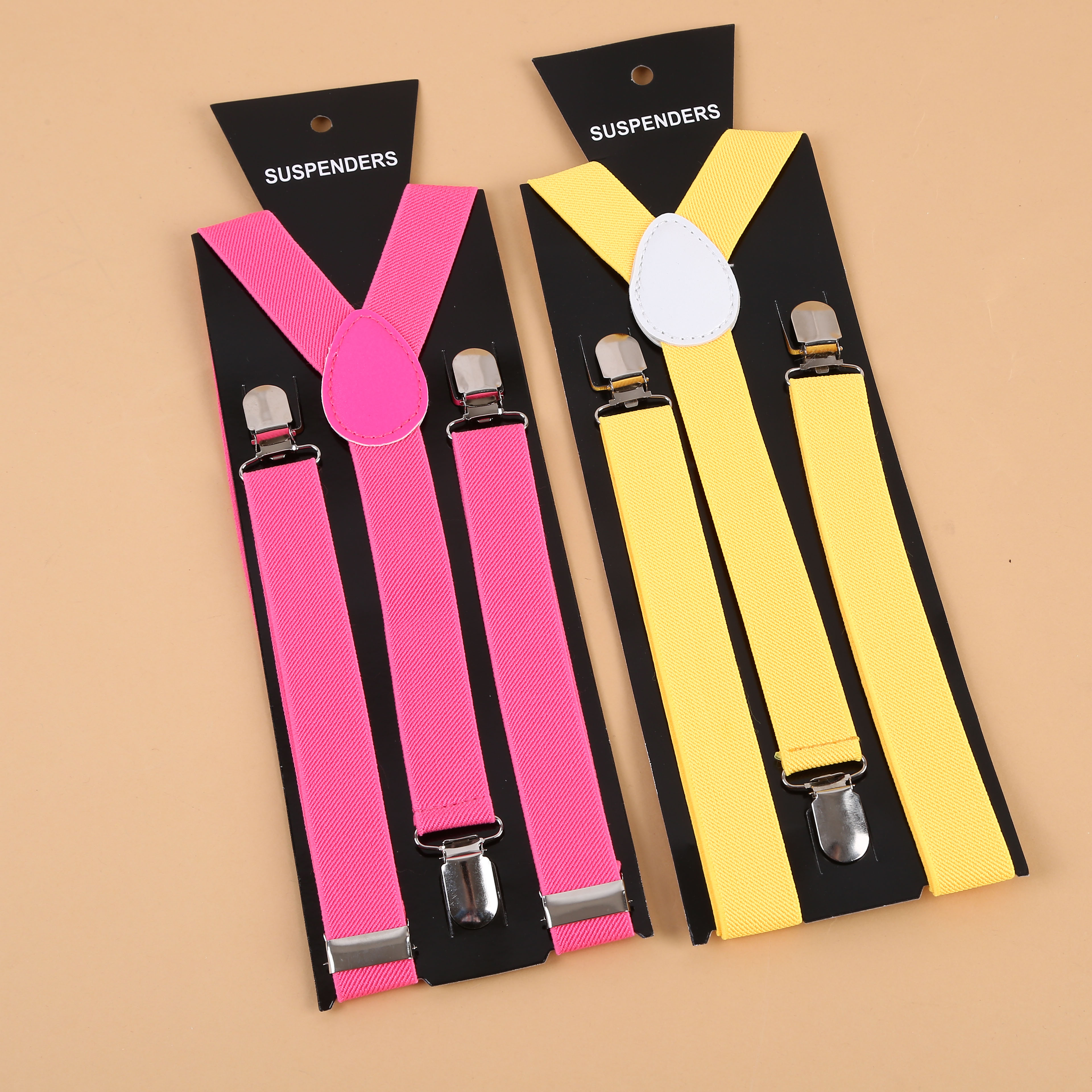 2dae1deca Supply Fashion 2018 suspenders vertical stripes mixed color general ...