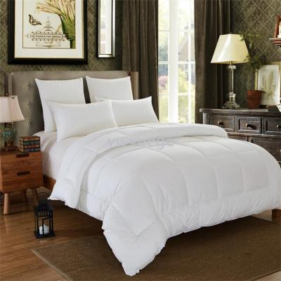 The hotel's white pure cotton velvet quilt winter quilt can be customized in the spring and autumn.
