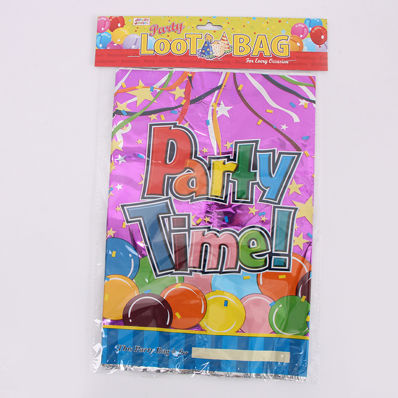 Origin Childrens Birthday Party Holiday Return Gift Bag Cartoon Large Aluminum Film
