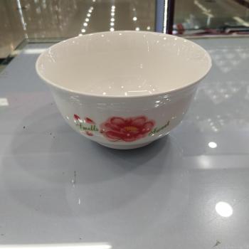 5寸6寸7寸面碗汤碗陶瓷面碗餐具直口碗