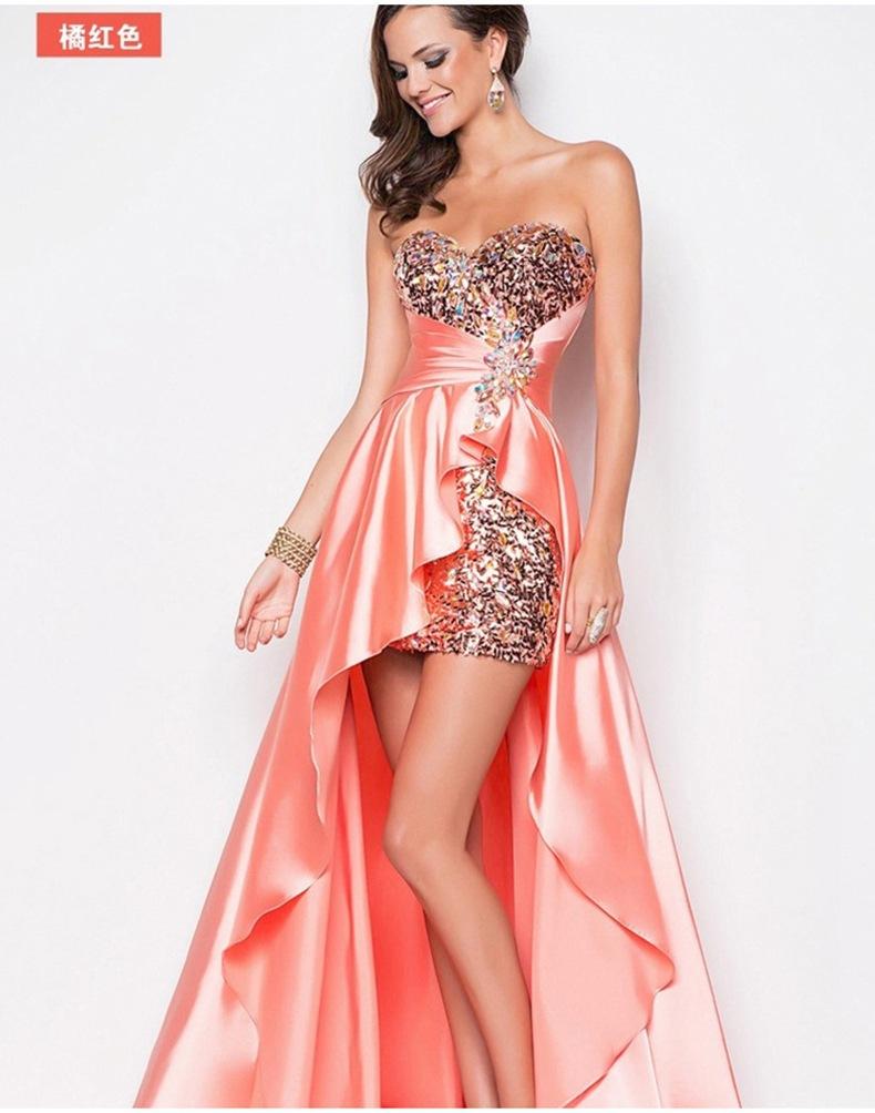 欧式奢华抹胸连衣裙高腰修身仙女裙子长裙复古晚风绸缎礼服