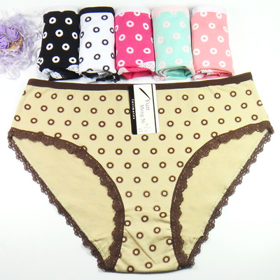 Ms cloud dream ni speed sell tong wish amazon eBay underwear wholesale and foreign trade printing mommy pants big yards.
