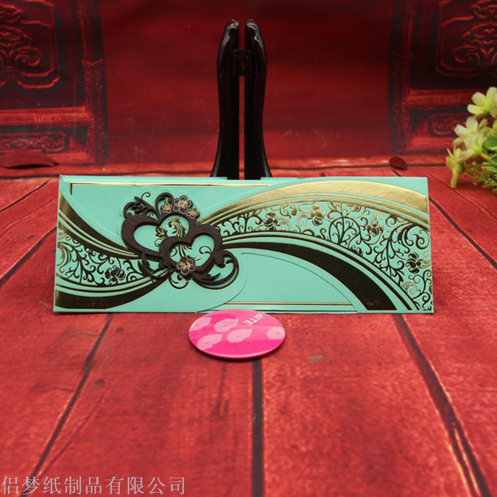 Supply Wholesale Order Wooden Greeting Card Wedding Invitation