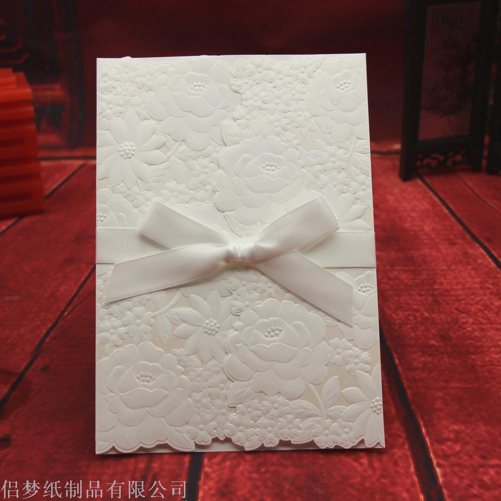 Supply Wedding invitation card wholesale foreign trade invitation ...