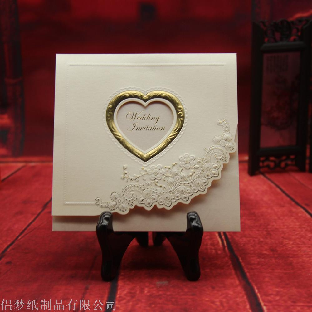 Supply Foreign trade invitation card manufacturers direct wedding ...