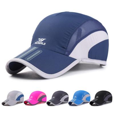 dea9677d31554 Baseball sun hat outdoor south Korean fashion print sun hat summer sun  protection speed cap men