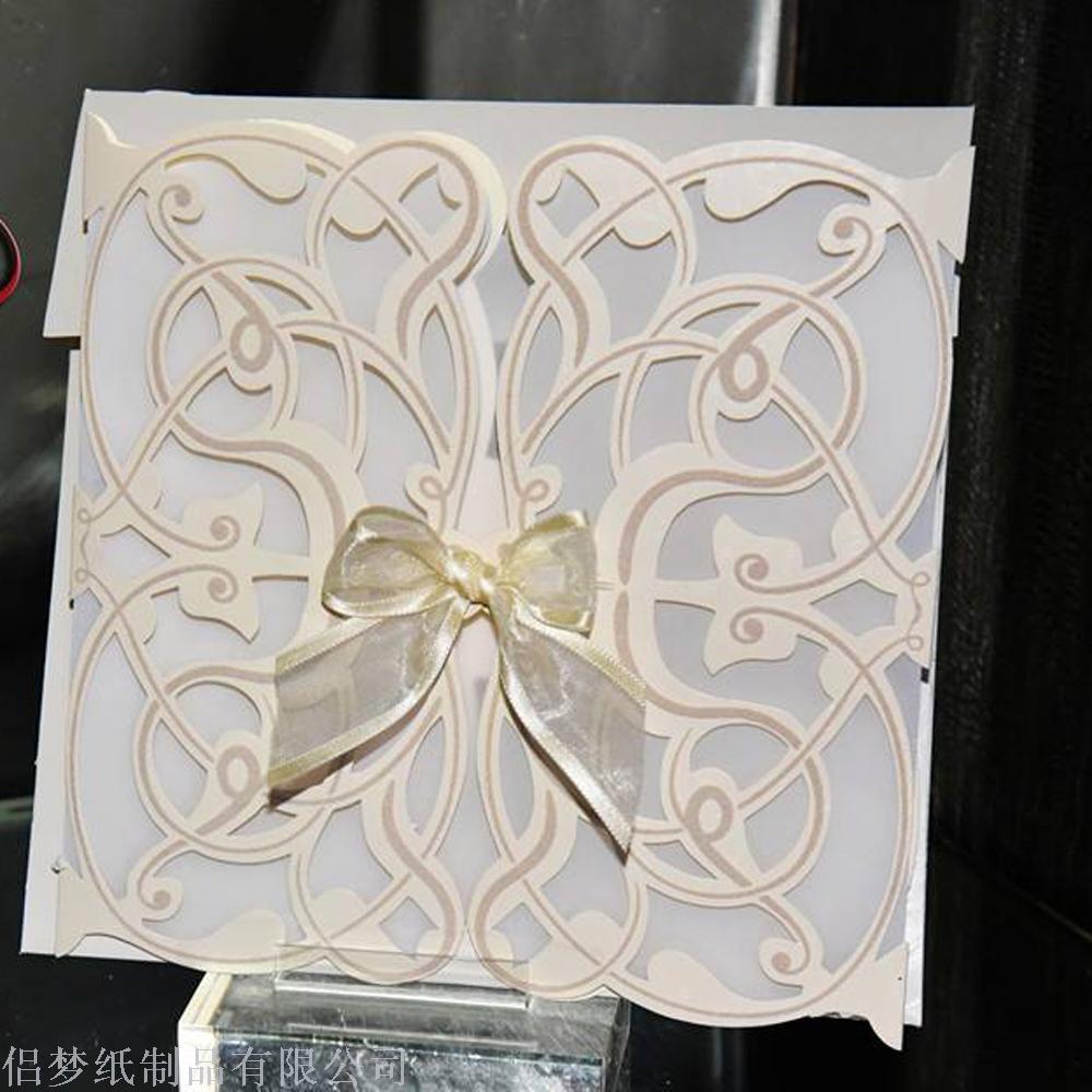 Supply Exquisite and empty invitation wedding invitation card ...