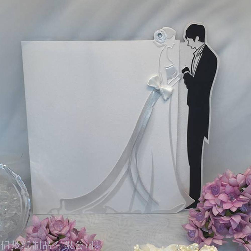 Supply The wholesale wedding invitation card customized wedding ...
