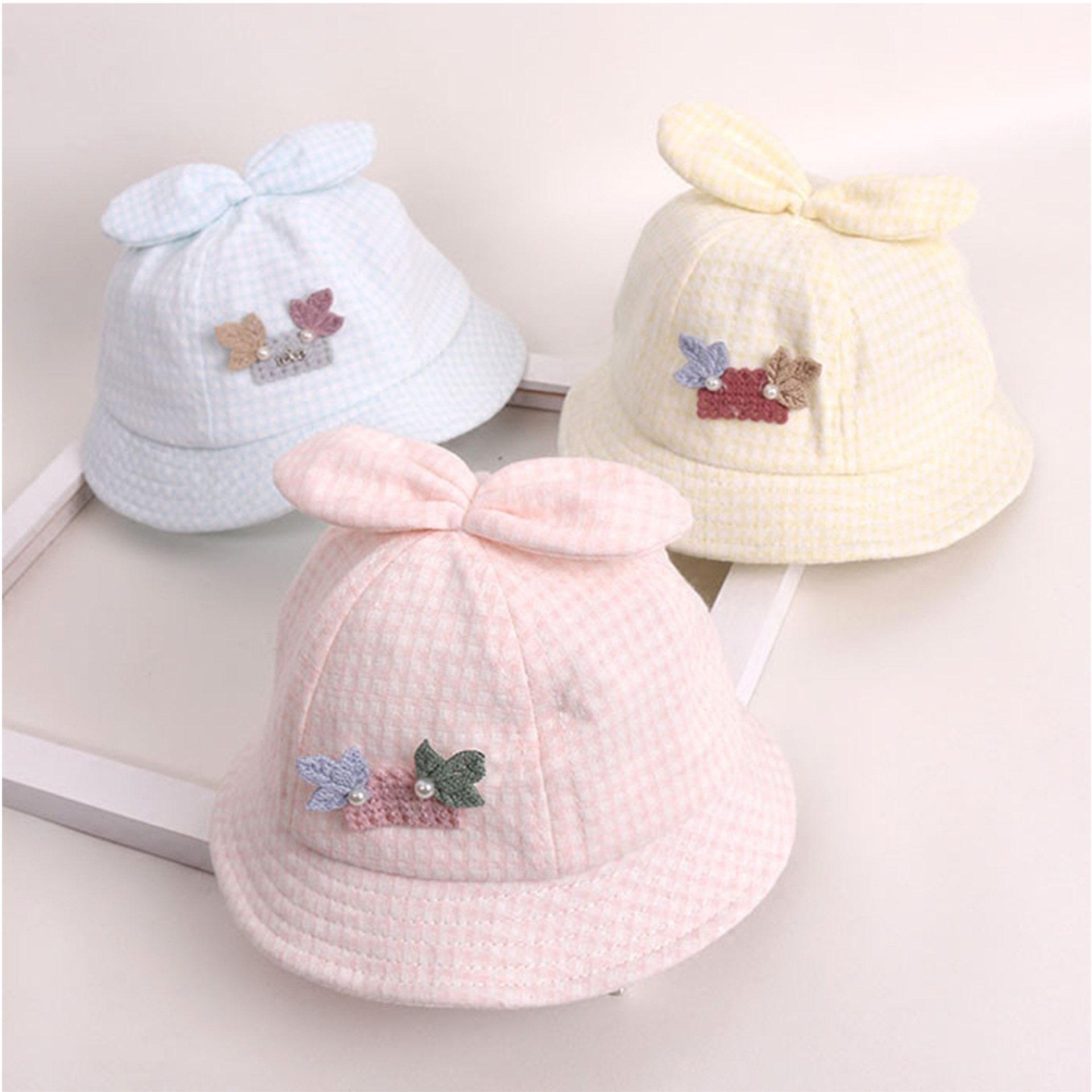 a379f350bfa Supply Children s hat spring and summer 0-3-6-12 months female baby ...