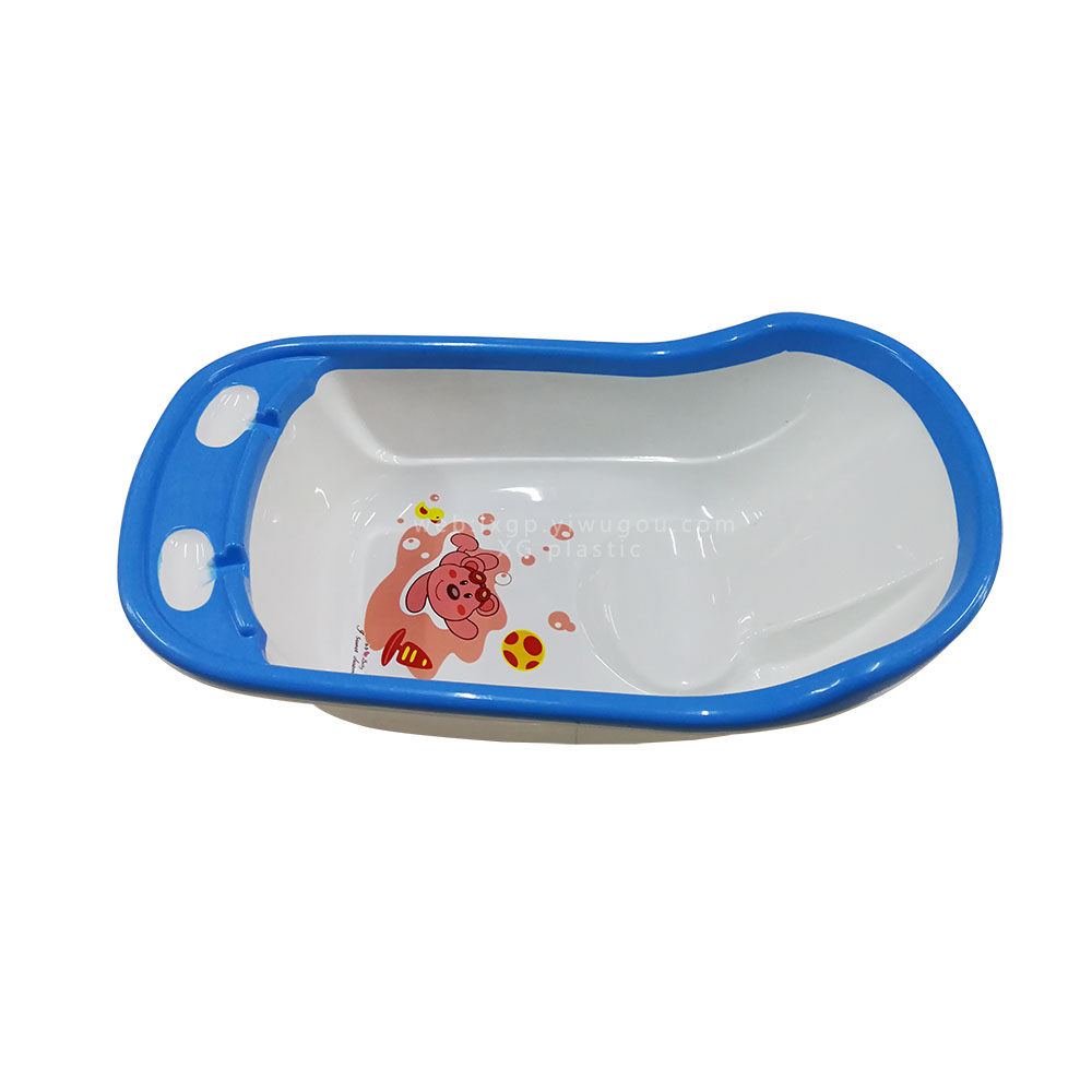 Supply bathtub new baby plastic PE infant swim tubs body washing ...