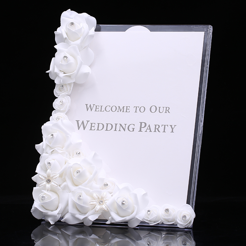 Supply Romantic Wedding Reception Plate High End Aesthetic European