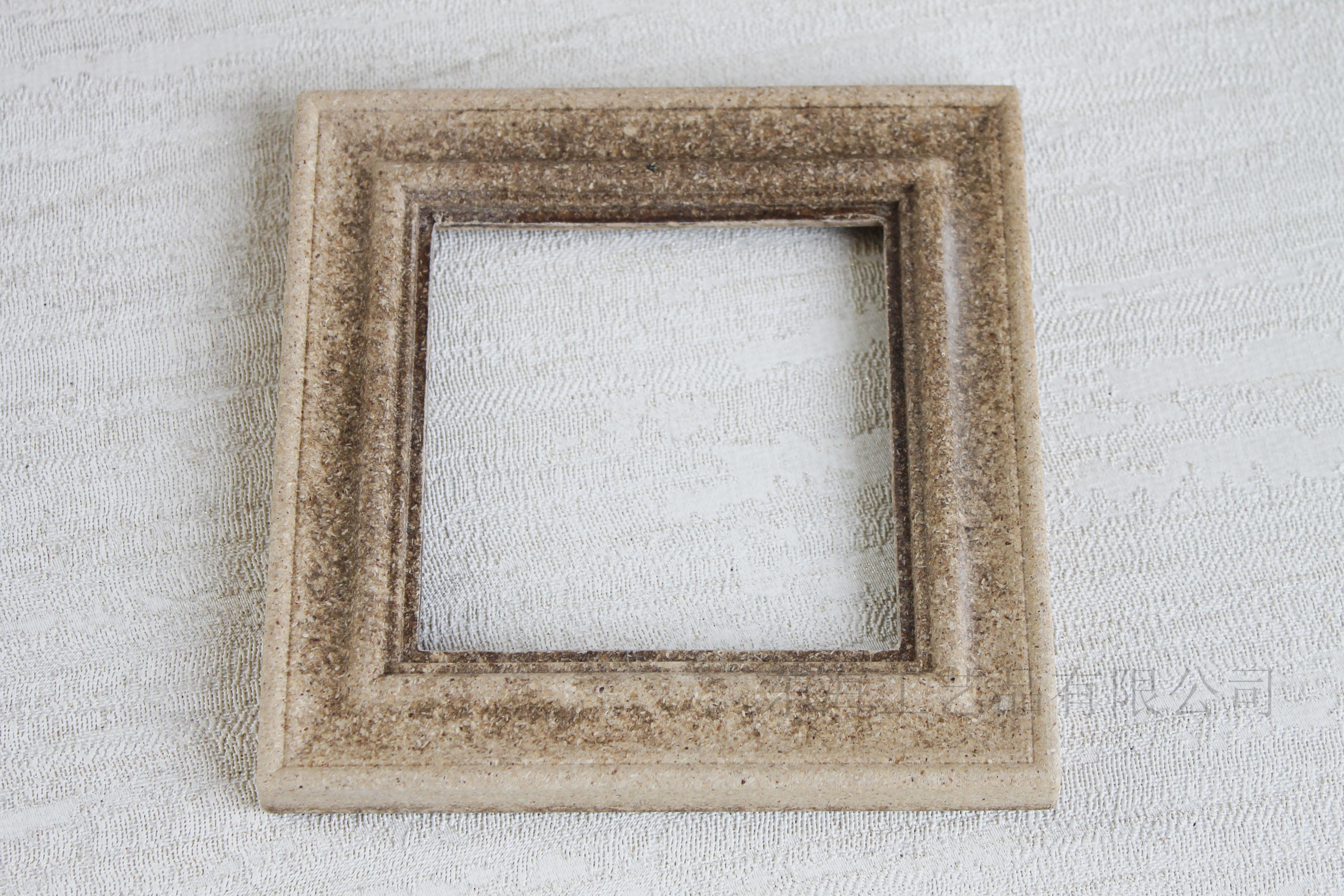 模压树粉方形相框工艺品家居装饰白胚漆画器材各种可
