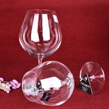 厂家直销 无铅水晶红酒杯 葡萄酒高脚杯玻璃套装家用酒具