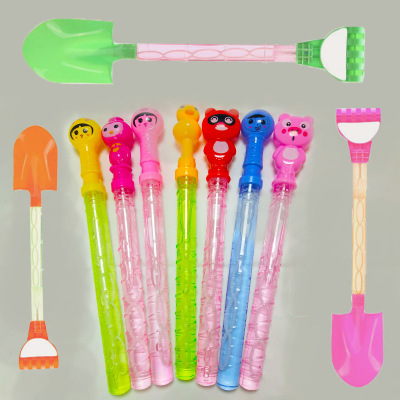 Beach colorful 38CM colorful bubble stick factory direct sale