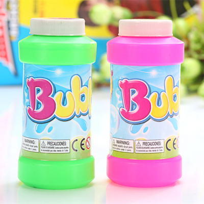 Wholesale 250ML bubble water non-toxic big bottle bubble boy bubble stick