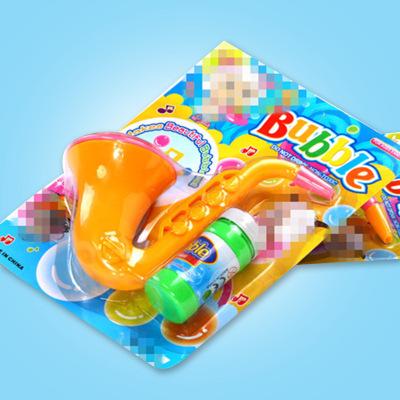 Trumpet blowing bubble toys saxophone bubble guns bubble water children's summer toys