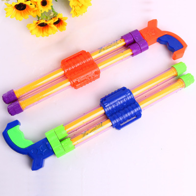 Hot style double-pipe floating water cannon toys popular children's drama toys wholesale