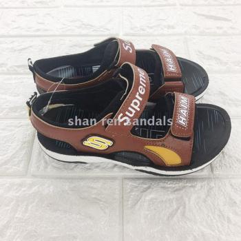 童鞋 新款夏季男童运动沙滩凉鞋 软底耐磨沙滩鞋