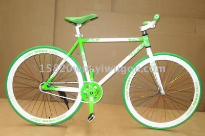 Bicycle fixed gear road bicyclebicycle riding equipment novel toy inflatable toys
