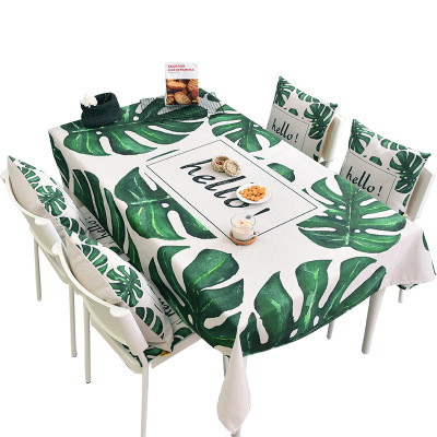 Green linen tablecloth living room tableccoffee loth table tablecloth