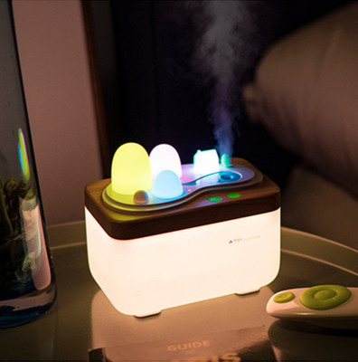Creative new type of field humidifier LED essential oil aromatherapy machine night light water