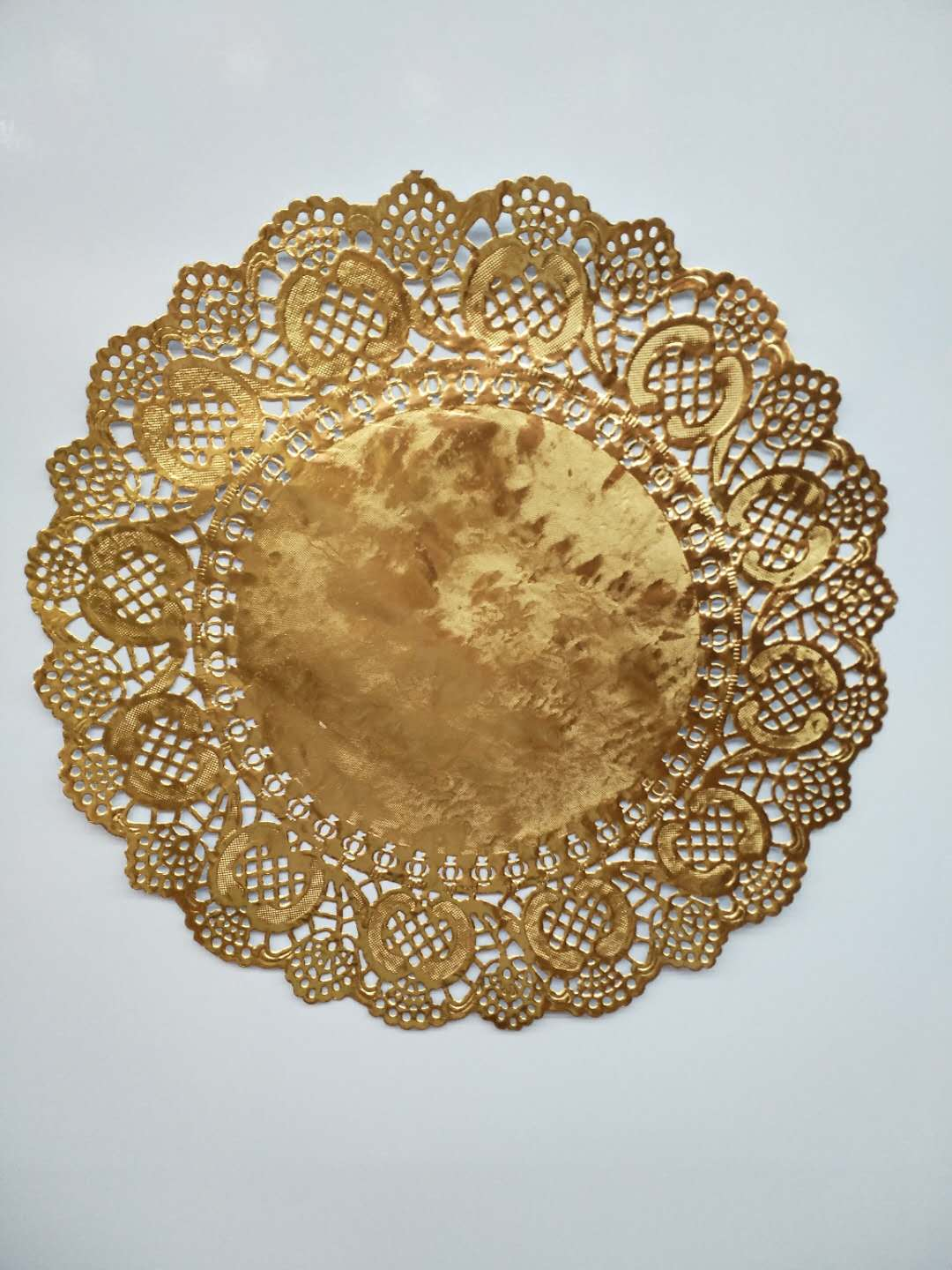 Supply Gold Circular Lace Paperflowered Paperflowered Paper