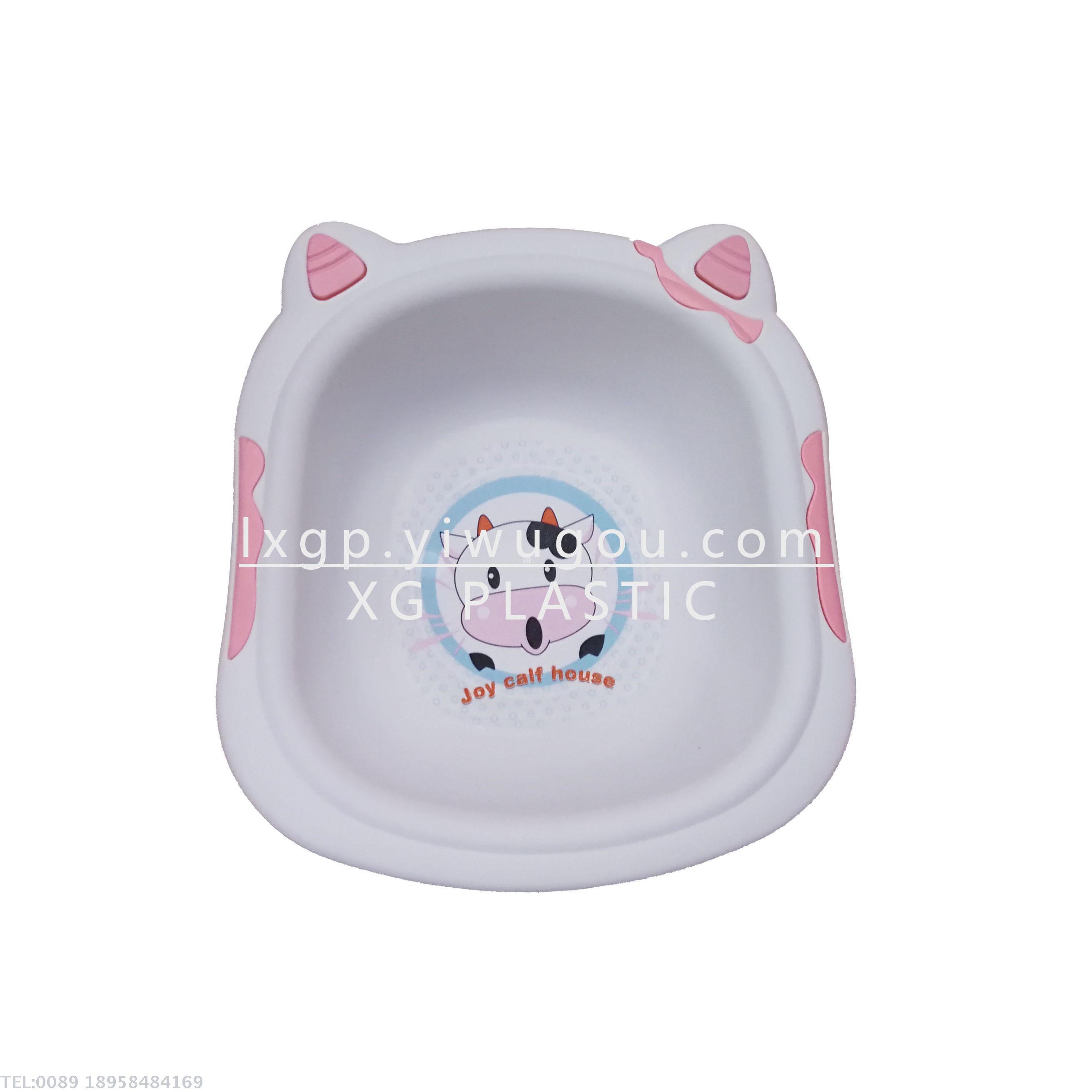 Supply basin small cow washbasin plastic portable bathtub for ...