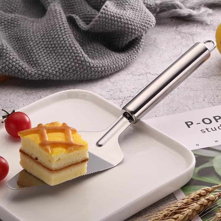 Stainless steel cake spatula baking tool baking tool cake cutter kitchen spatula pizza spatula