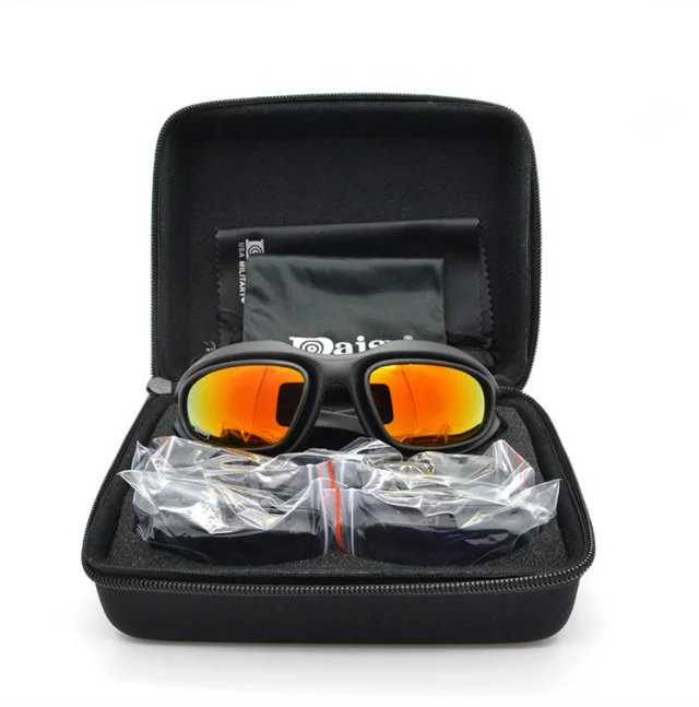 4d2b31758a Daisy C5 tactical outdoor sports goggles cycling goggles night vision  windshield motorcycle goggles