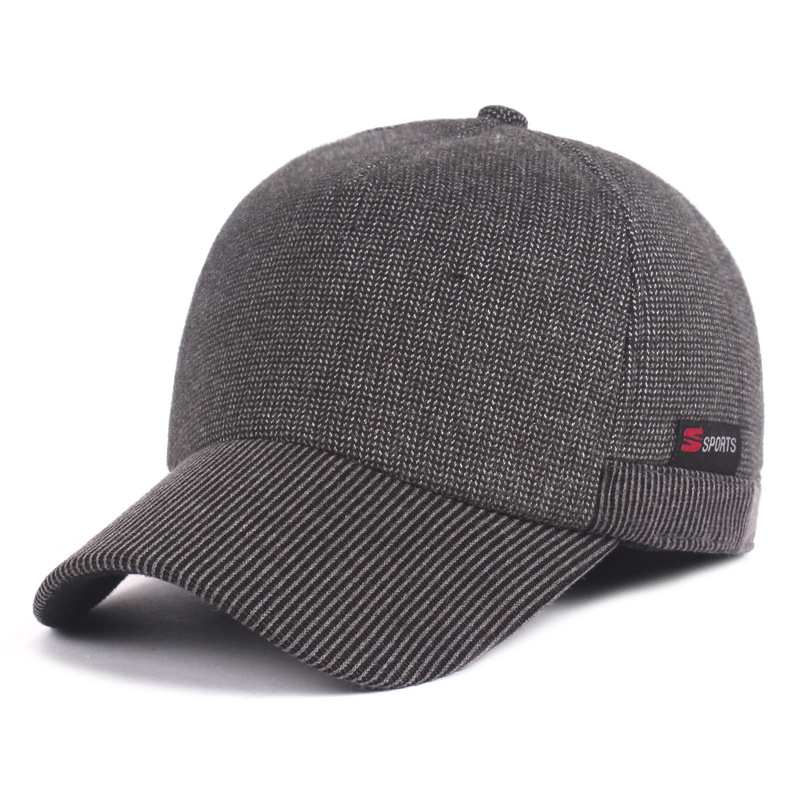 c80520e0ec1 Old man s hat man winter thermal protection hat thickened cotton wool cap  middle aged winter man s