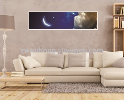 Decorate a wall to stick large area home to decorate stick adornment picture