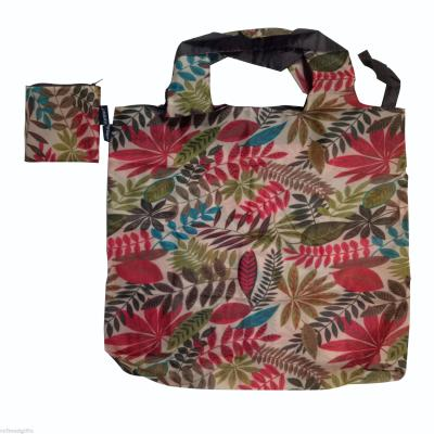 Customizable pattern zipper quartet bag resuable and eco-friendly tote bag foldable shopping bag with zipper