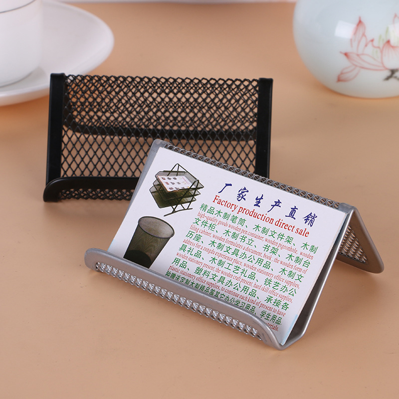 Supply Manufacturer Direct Selling Fashion Business Card Holder