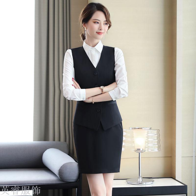 Supply Autumn Winter Business Suit Dress Suit Ladies Fashionable