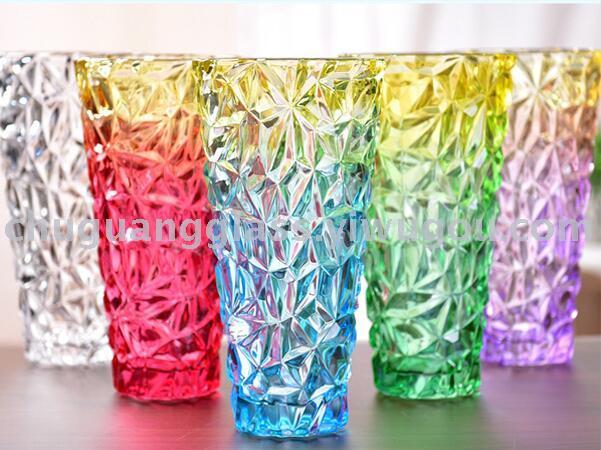 Supply Chu Guang Crystal Glass Vase Transparent Vase Flower