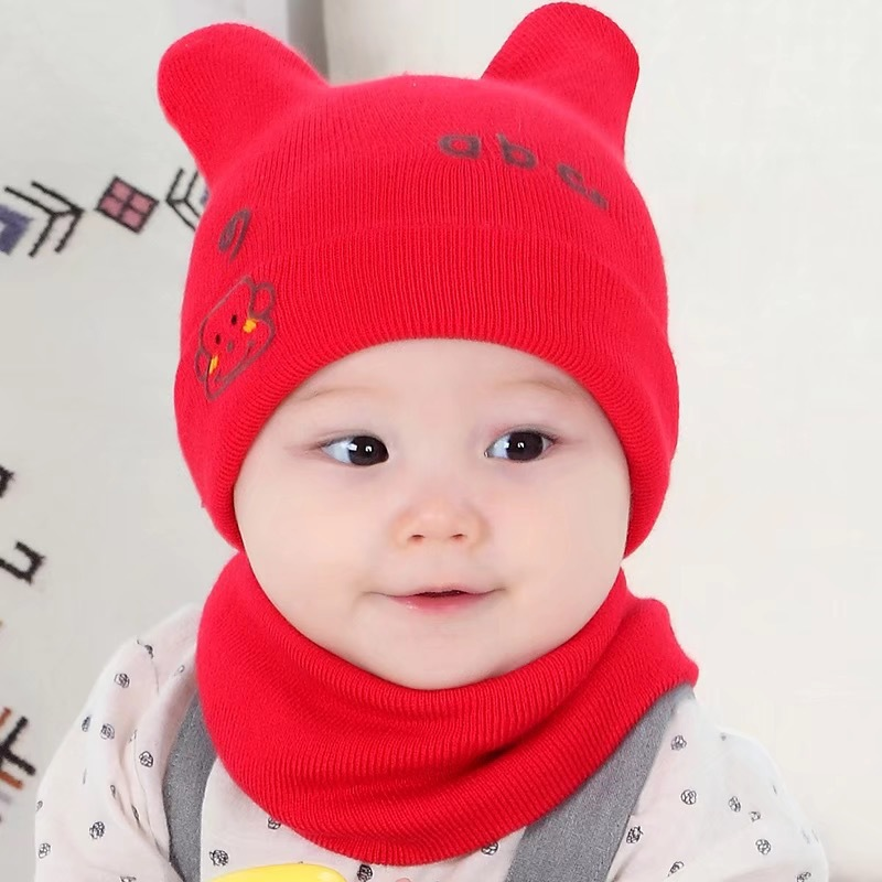 18e647114e34 Supply Autumn and winter new baby cap Korean cartoon knitted cap ...