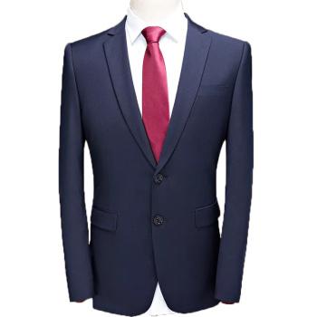绅士男装男士西服套装修身单排一粒扣伴郎西装西裤马甲3件套