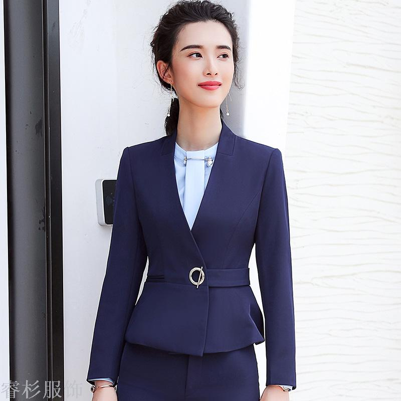 Supply The New Business Suit Is A Fashionable Dress Suit For Women