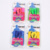 Wind dance student fitness jump rope skipping plastic rope sponges bearing handle advertising gift jump rope fitness