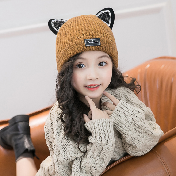 c4f817ee8ce Children s hat male autumn and winter tide 1-7 years old autumn winter 6  baby