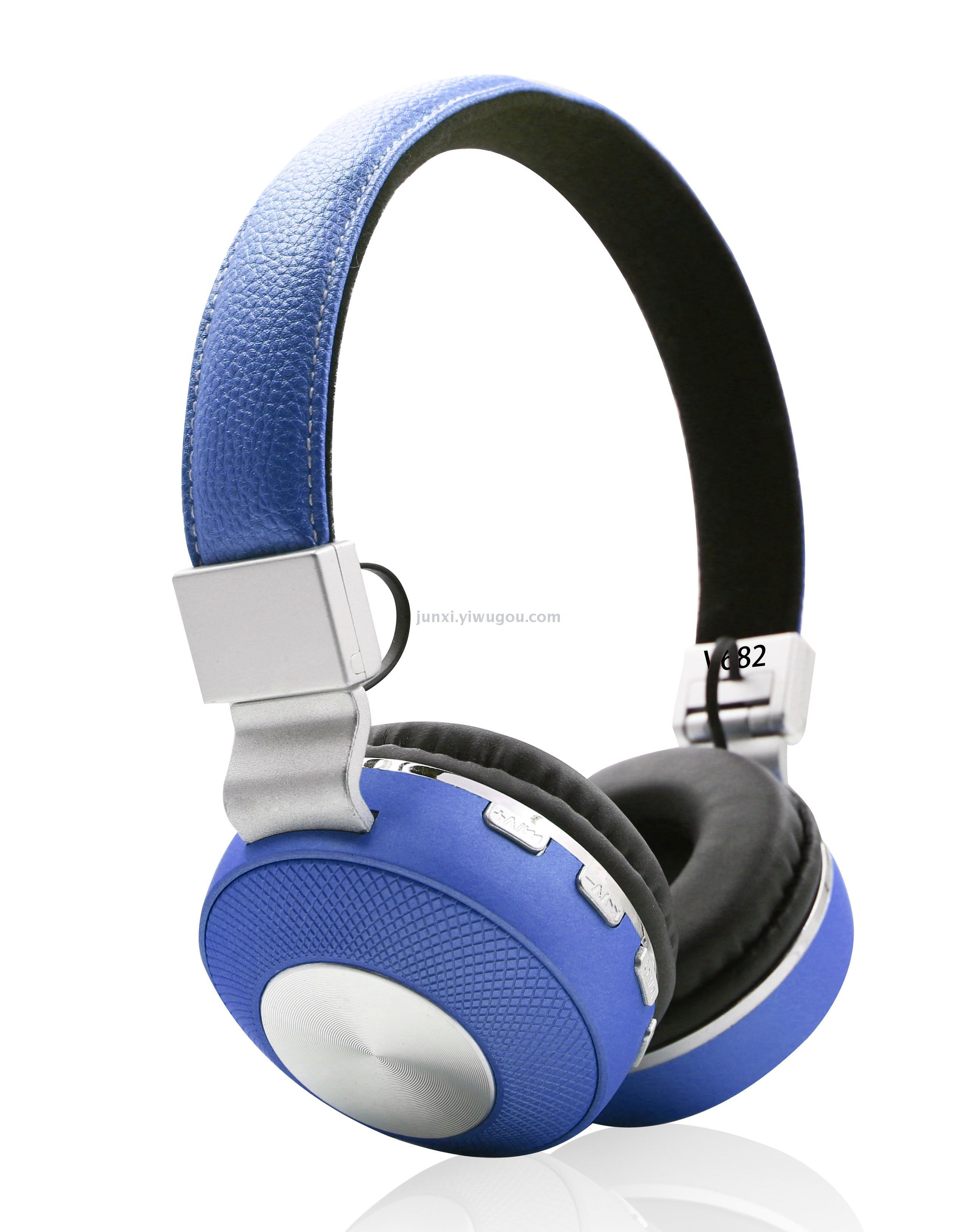 Supply Wireless Luminescent Bluetooth Headset Headset Headset Sports Running Headset Pc Phone Universal Ultra Long Standby