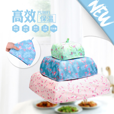 Manufacturer direct spot twill heat preservation vegetable cover kitchen heat preservation cover