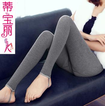 秋冬弹力紧身瑜伽裤保暖一体裤高腰踩脚打底裤女外穿