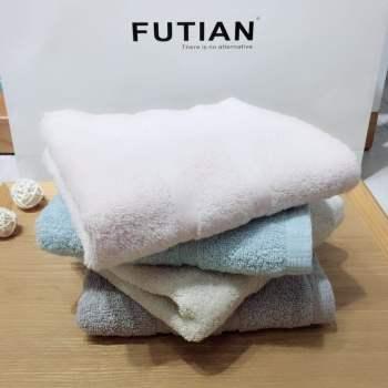 純棉素色毛巾 商超禮品定制LOGO促銷北歐風莫蘭迪色