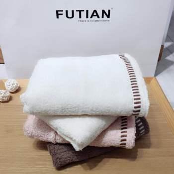 純棉素色毛巾日系性價比促銷面巾 福利回禮贈品