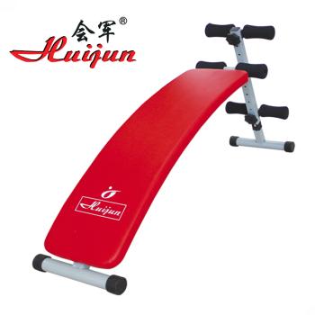 HJ-B043B 会军收腹板 仰卧板 哑铃椅 家庭健身用品