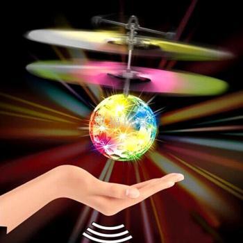 琪福新奇特 水晶球懸浮智能飛行球 感應飛行器玩具跨境熱賣批發