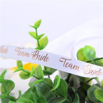 订做印刷印字织带 涤纶带彩带缎带包装辅料商标